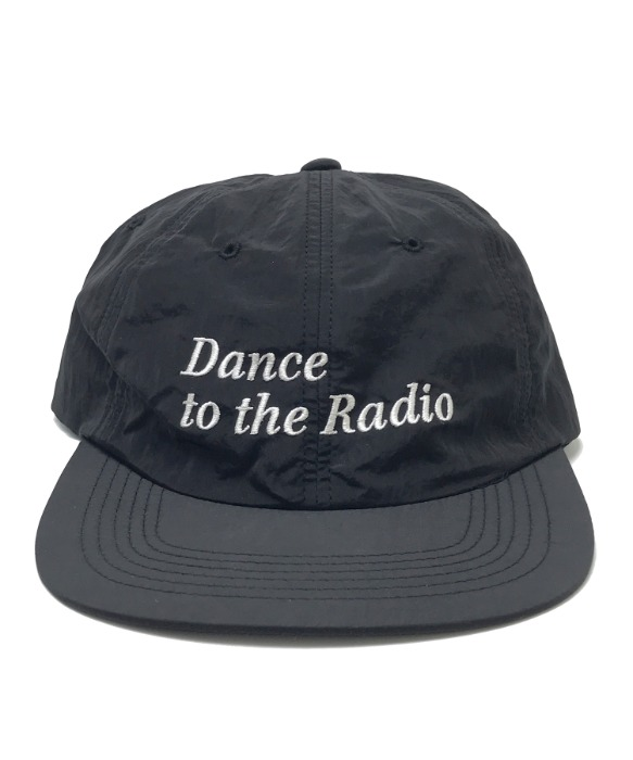DANCE TO THE RADIO NYLON CAP(BLACK)