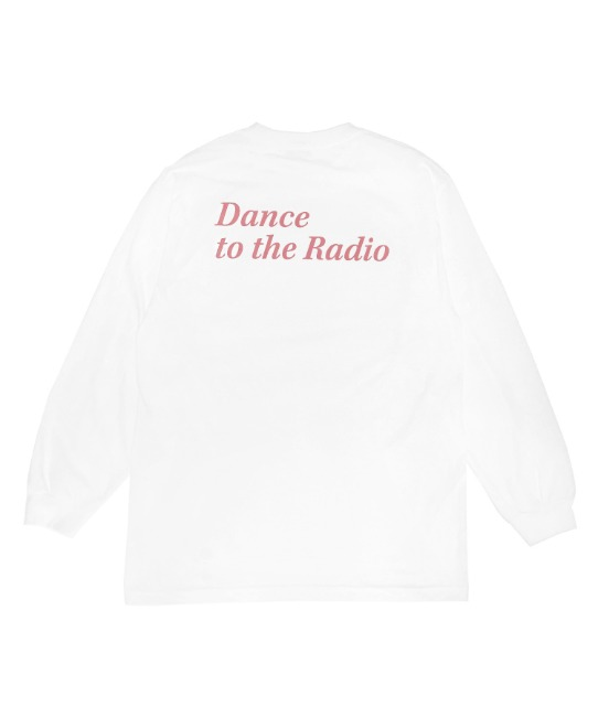 DANCE TO THE RADIO L/S TEE(PINK)