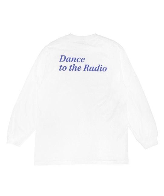 DANCE TO THE RADIO L/S TEE(BLUE)